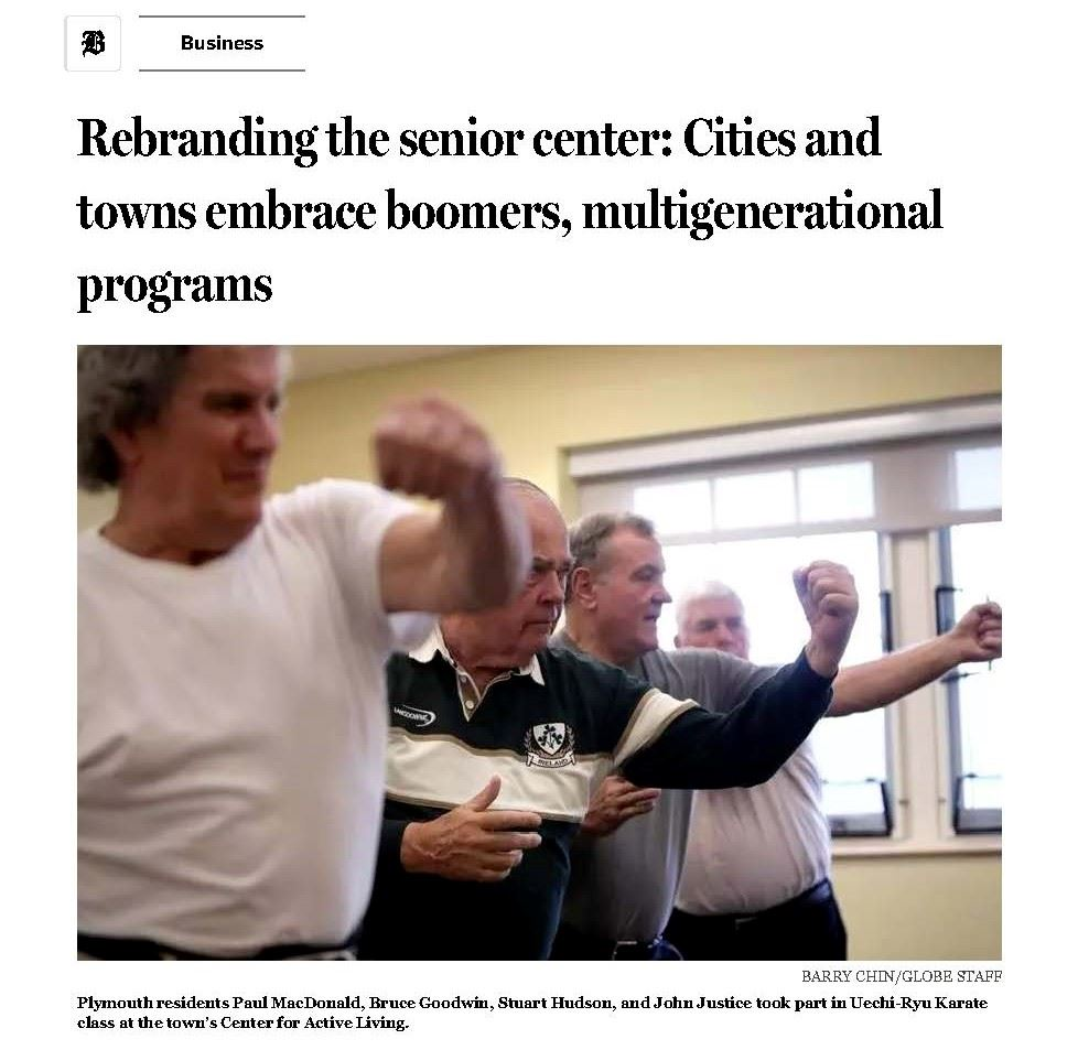 Rebranding the senior center_ Cities and towns embrace boomers, multigenerational programs - The Bos