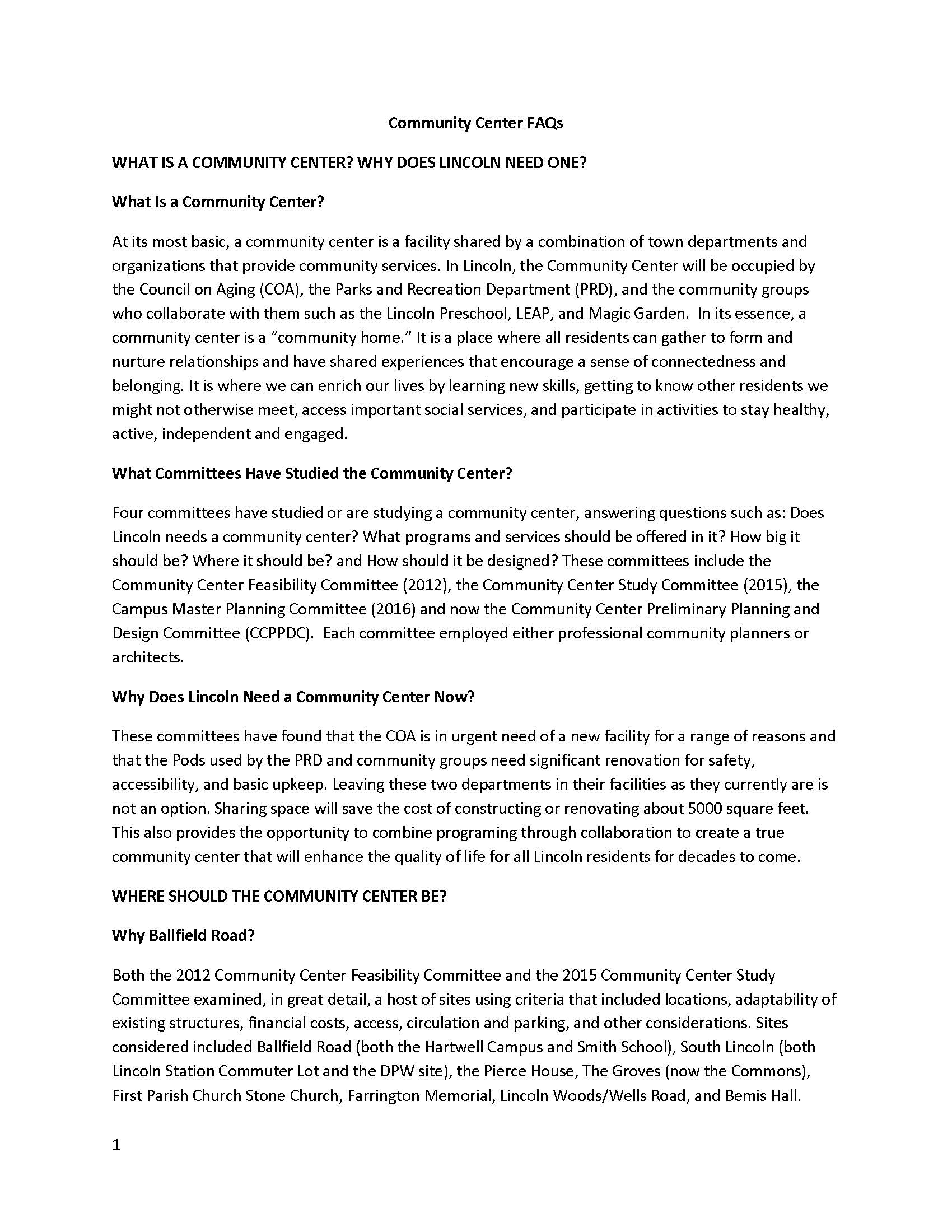 Community Center FAQs_Page_1
